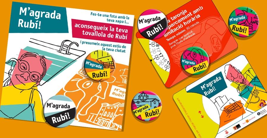 Badges, flyers, parking clocks