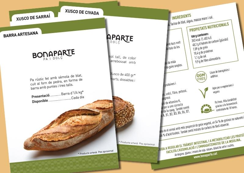 Leaflets Bonaparte's bread
