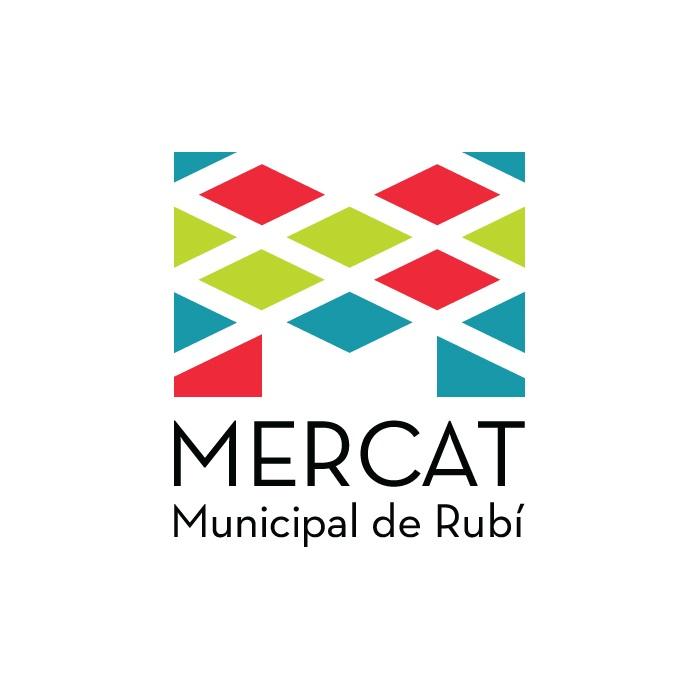 Logo Mercat/Mercado/Market de Rubí