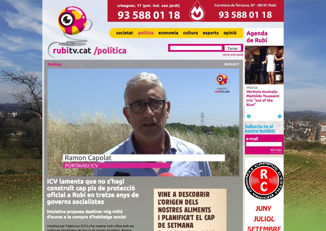 Noticias, Notícies, News de RubíTV